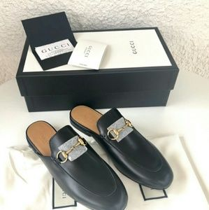 Gucci Shoes - Gucci Princetown leather slippers